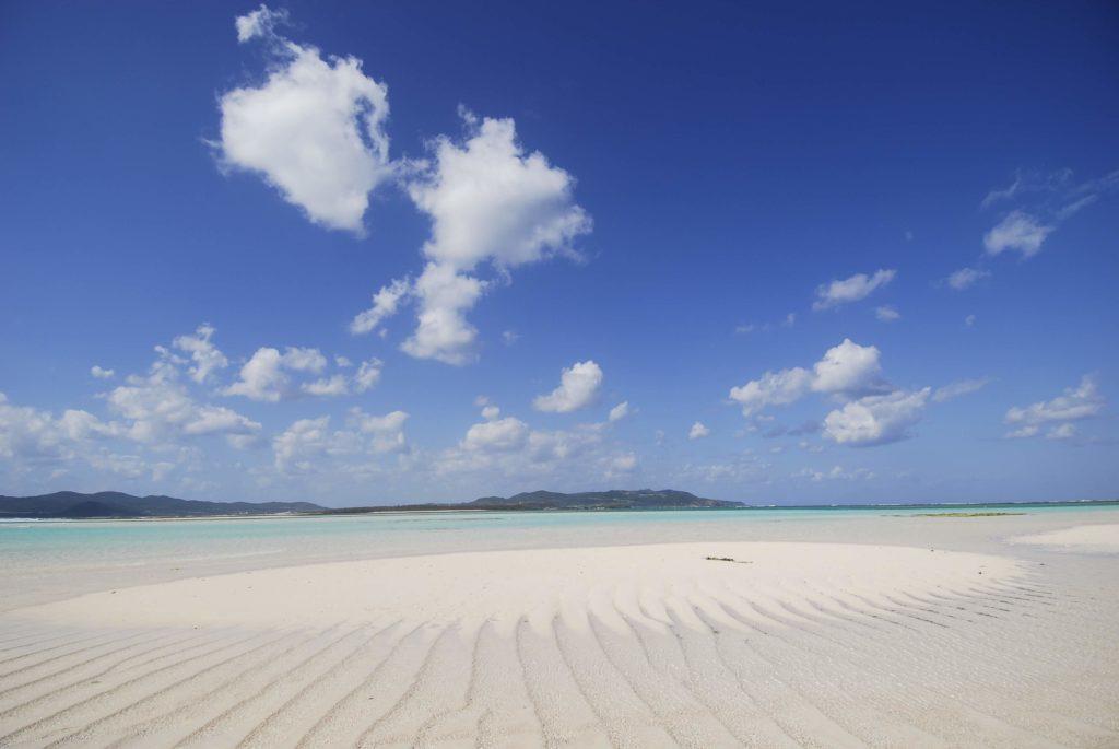 はての浜から久米島