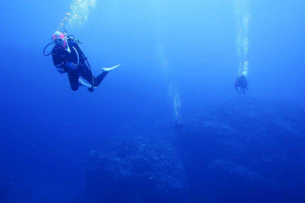 久米島ブルーの海