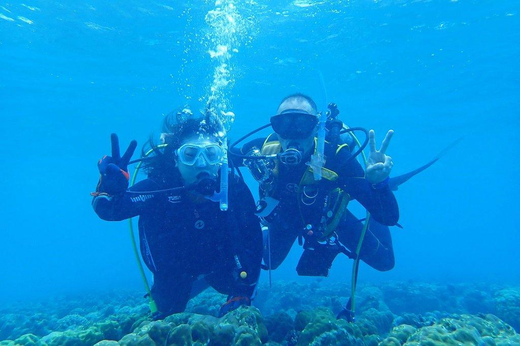 アーラ浜 体験ダイビング2