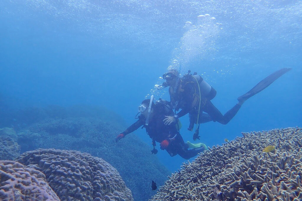 アーラ浜 体験ダイビング