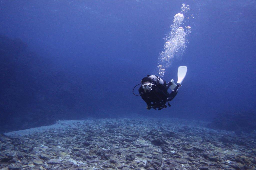 ブルーの海