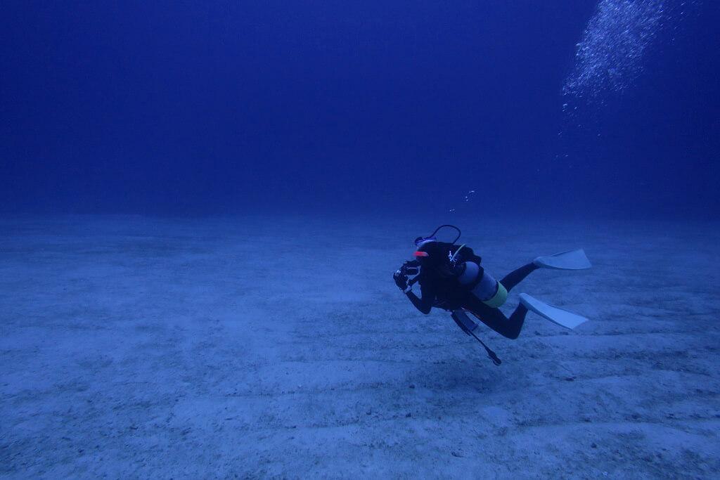 水深40mの世界
