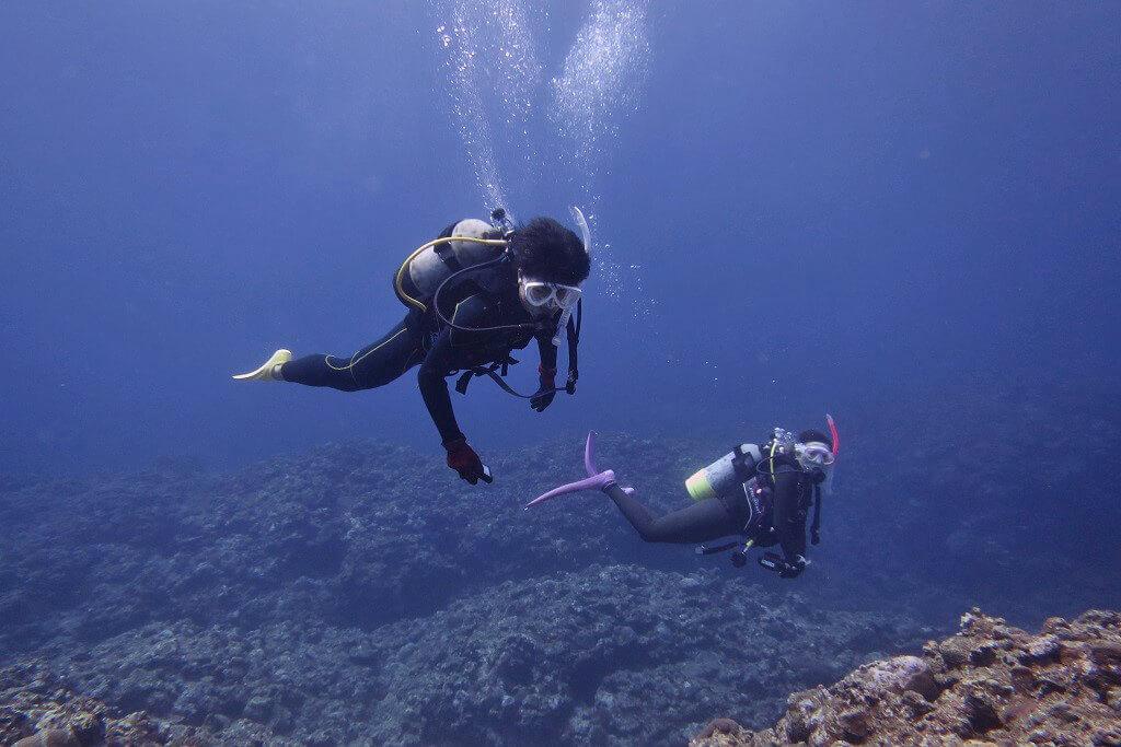 体験ダイビングのゲスト2