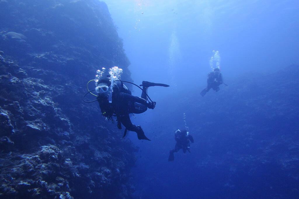 透明度40mオーバーの海