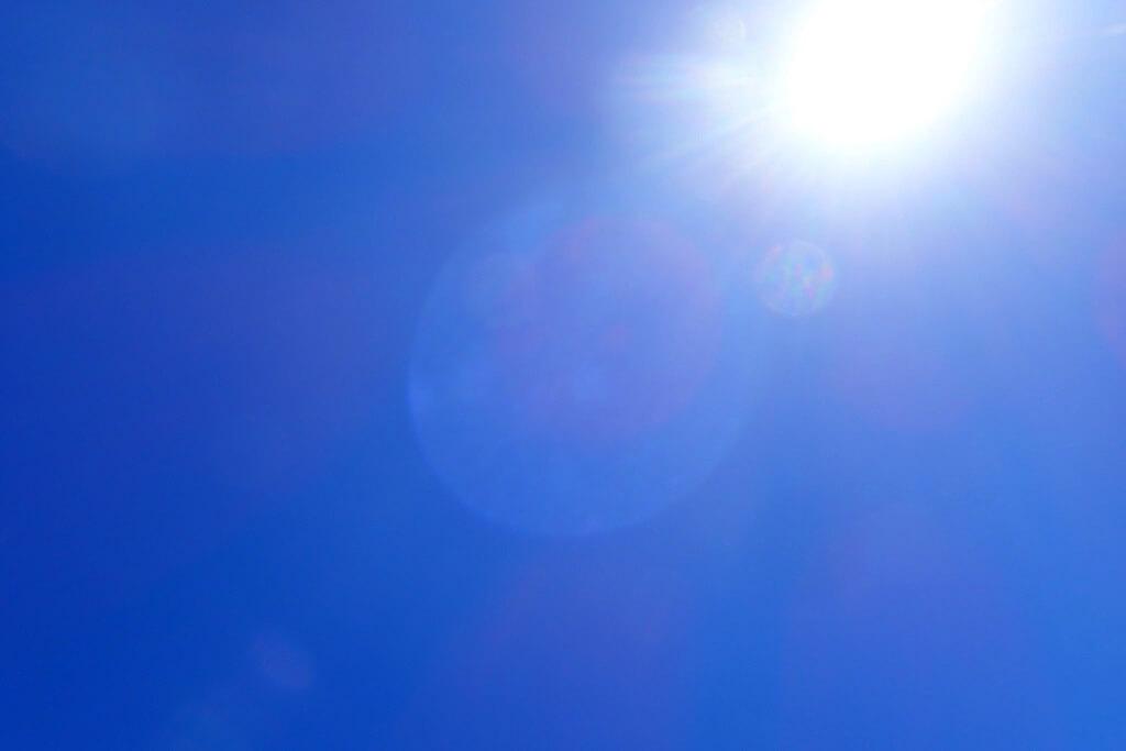 久米島の太陽